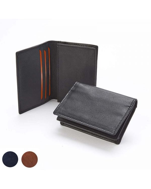 Accent Sandringham Nappa Leather Business Card Holder