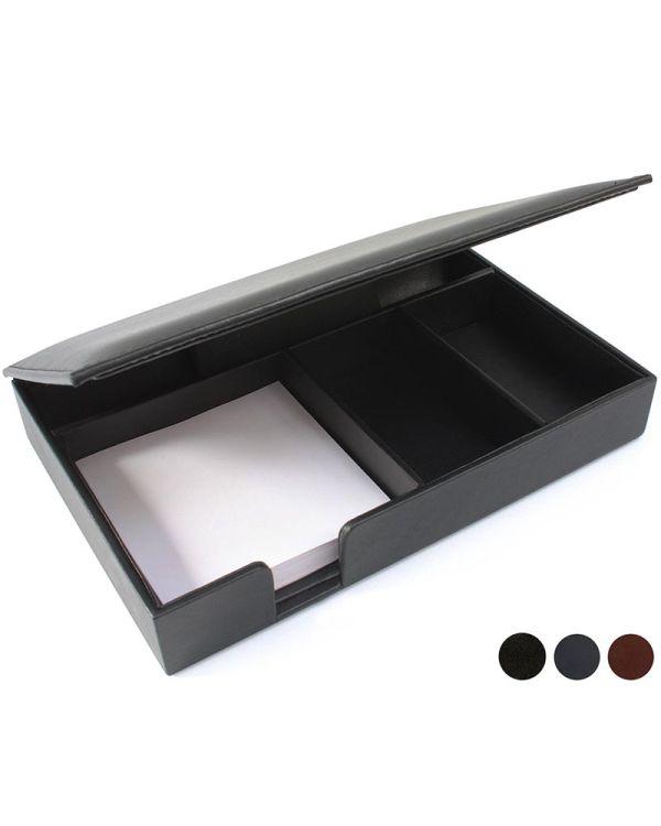 Accent Sandringham Nappa Leather Desk Organiser