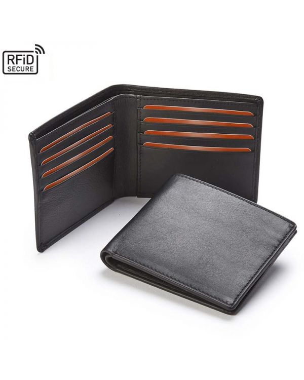Sandringham Nappa Leather Luxury Leather Wallet With RFID Protection