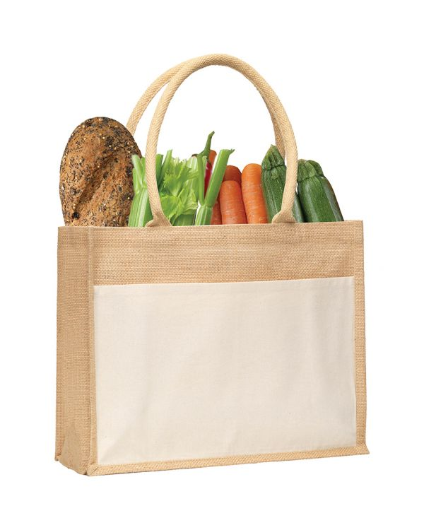 Upchurch Jute Tote Bag