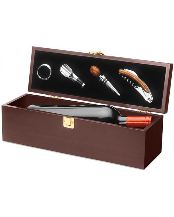 Costieres Wine Set In Wine Box