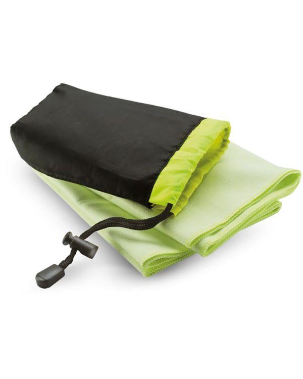 Drye Sport Towel In Nylon Pouch