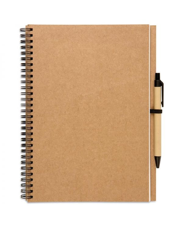 Bloquero Plus Recycled Notebook And Ball Pen