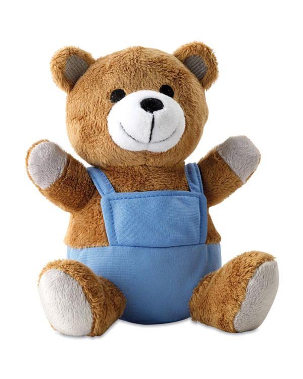 Nico Bear Plush With Advertising Pants