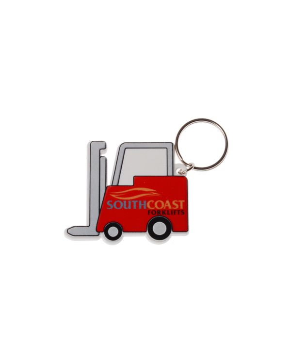 FORKLIFT Shaped Keyring