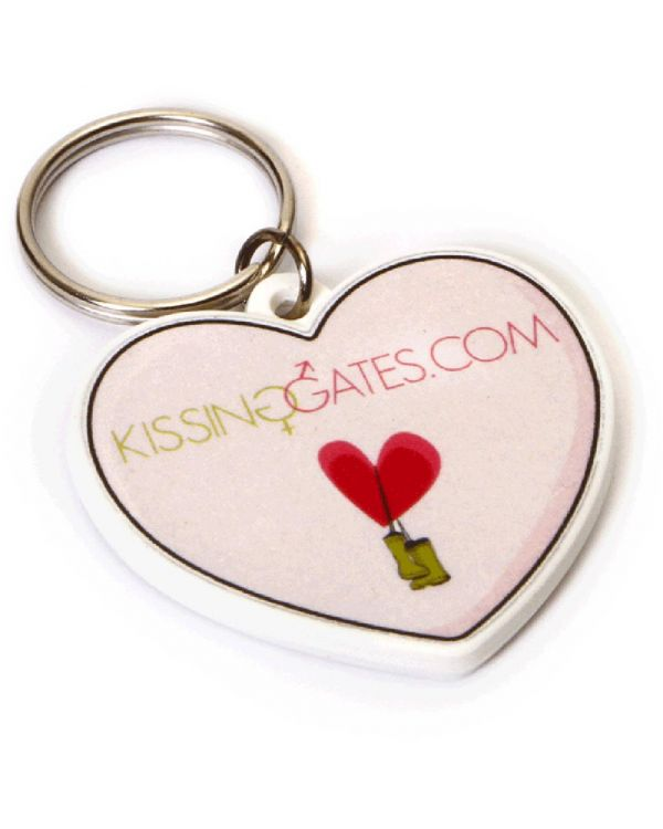 Recycled Heart Shape Keyring