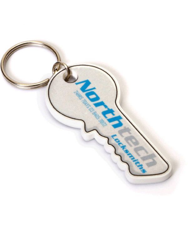Recycled Key Shape Keyring