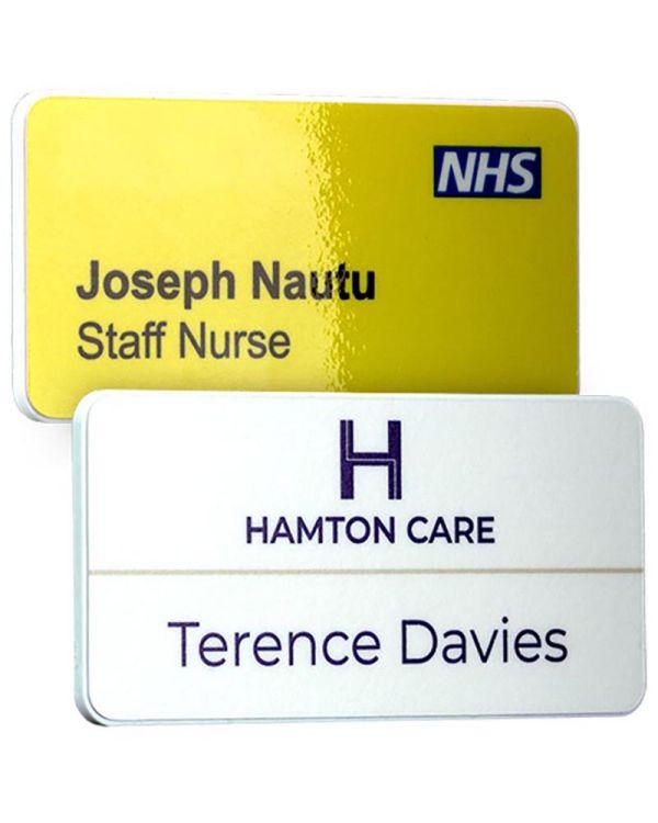 Keepsafe Antimicrobial Personalised Name Badges