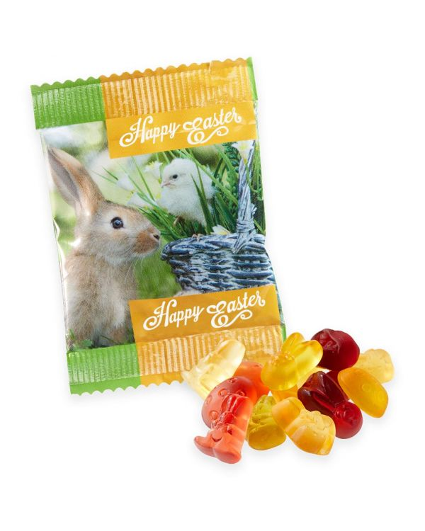 Easter - Kalfany Flow Bag - Kalfany Easter Fruit Gums - Easter Shapes
