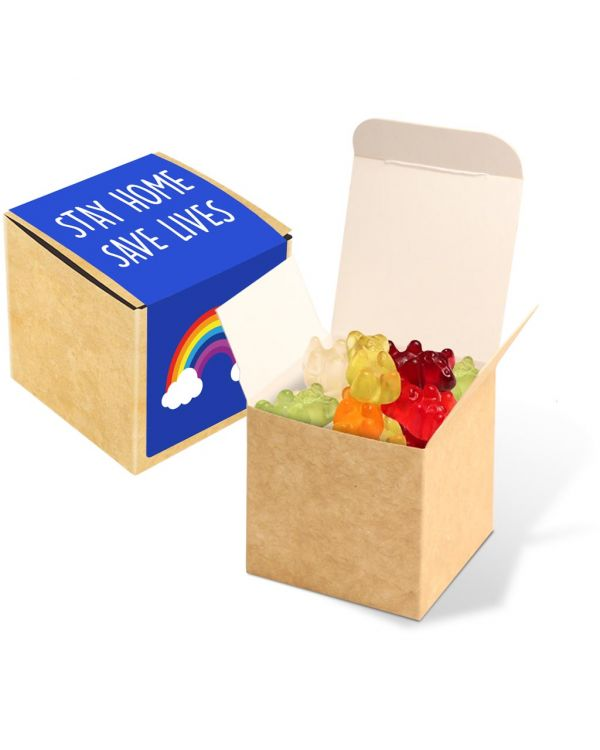 Eco Kraft Cube - Kalfany Vegan Bears - 40g