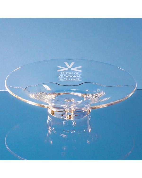 22cm Handmade Bubble Base Shallow Bowl