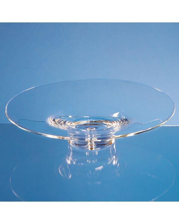 35cm Handmade Bubble Base Shallow Bowl