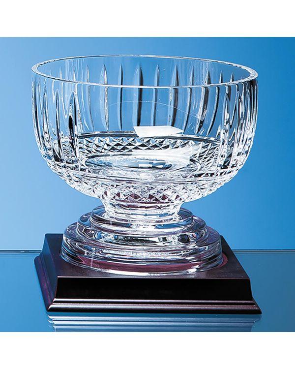 18cm Lead Crystal Footed Presentation Comport