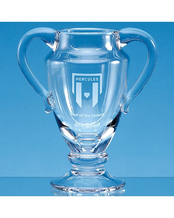 21.5cm Handmade Double Handled Trophy Cup/Vase
