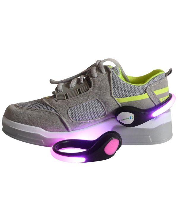 LED Light Up Shoe Clip