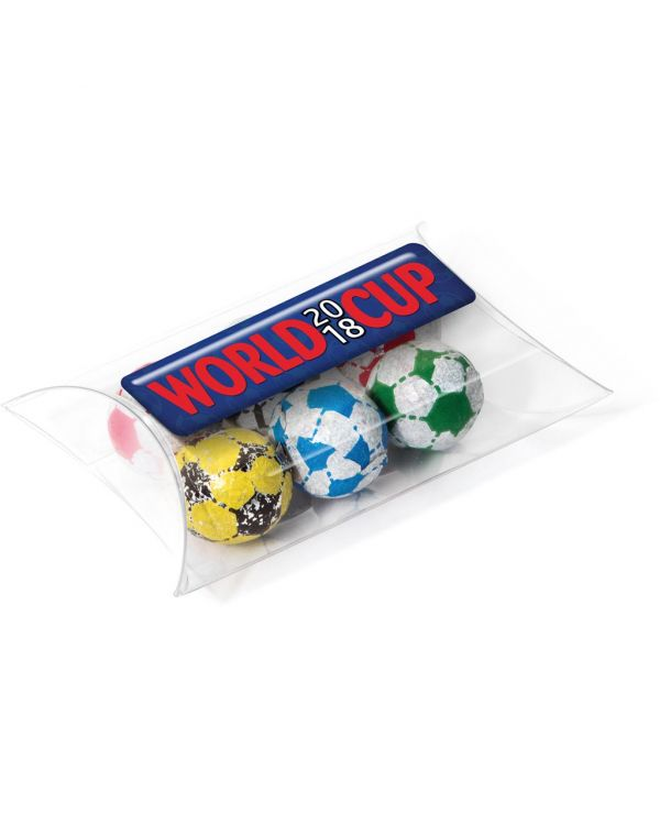 Large Pouch - Chocolate Footballs