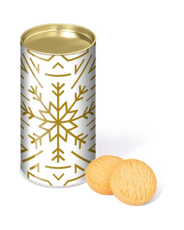 Large Snack Tube - Mini Shortbread Biscuits