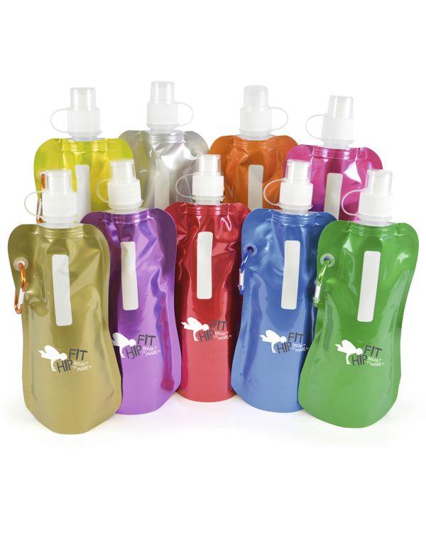 Metallic Fold-Up Bottle
