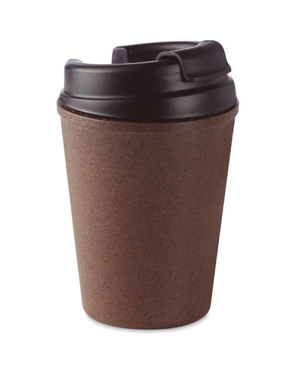 Brazil Double Wall Mug Coffee Husk/PP