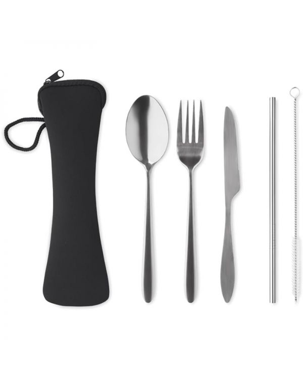 5 Service Cutlery Set Stainless Steel
