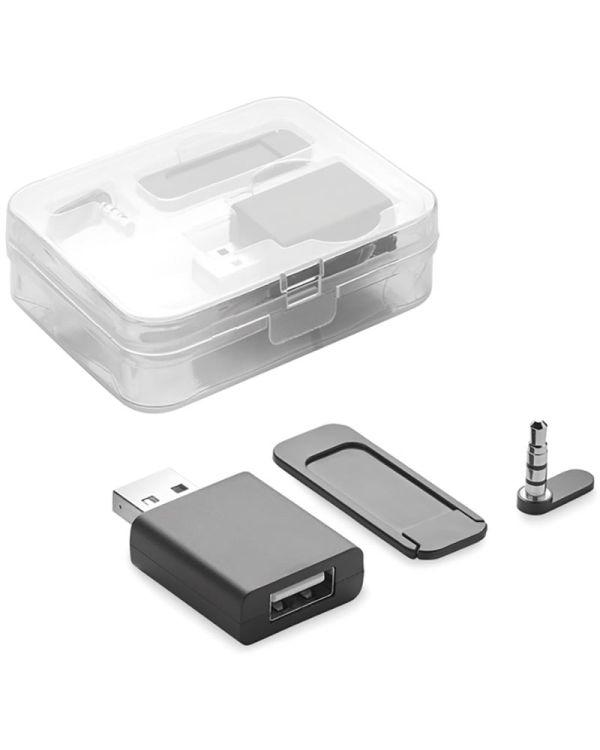 Blocker Set Webcam, Data And Audio Blocker