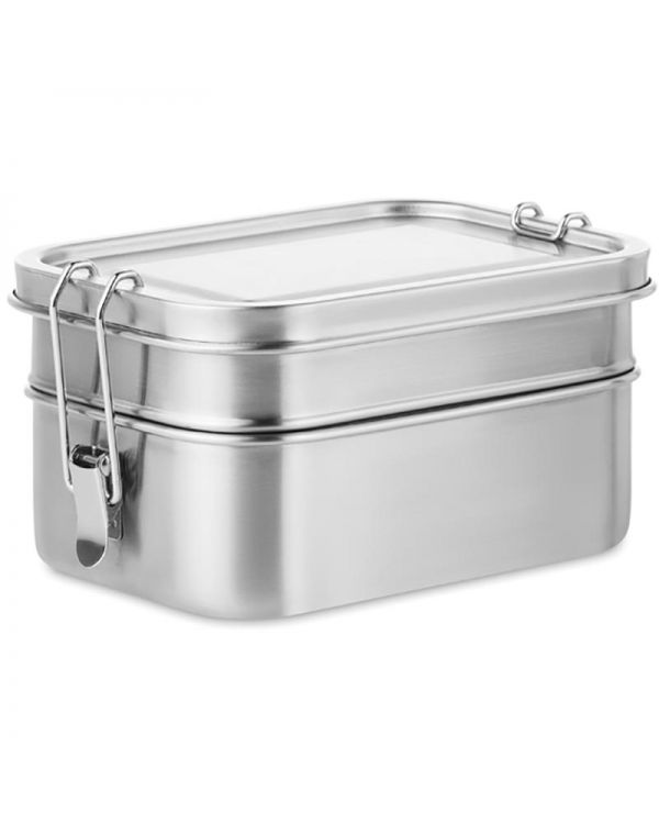 Double Chan Stainless Steel Lunch Box