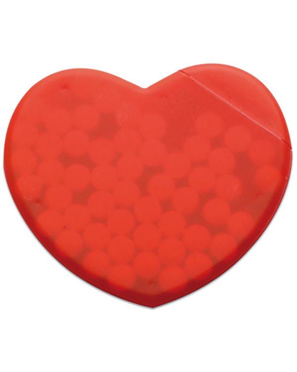Coramint Heart Shape Peppermint Box