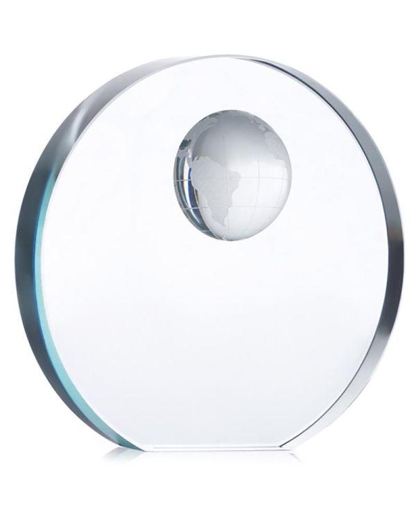 Mondal Globe Glass Trophy