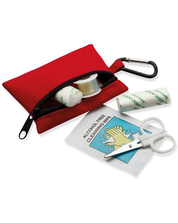 Minidoc First Aid Kit With Carabiner