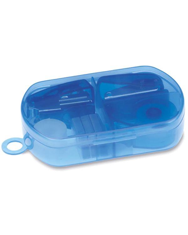 Burobox Stationery Set In Plastic Box