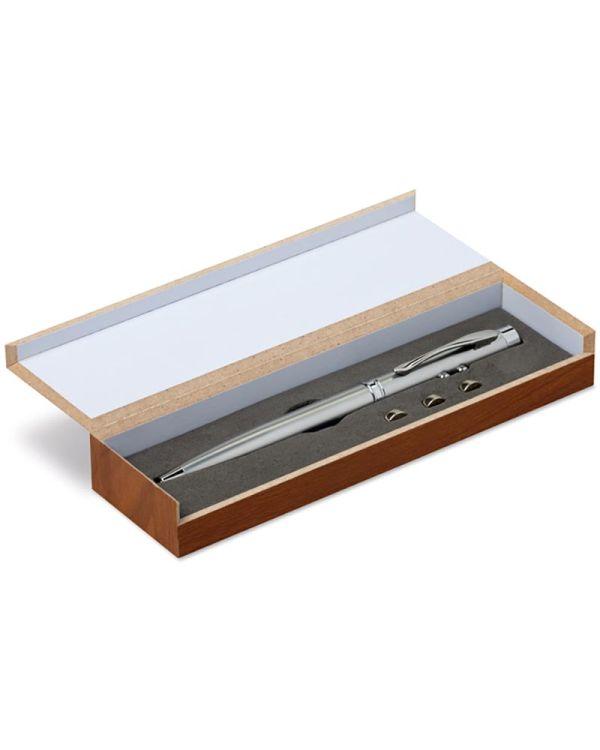 Alaska Laser Pointer In Wooden Box