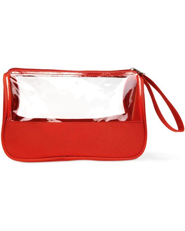 Plas Toiletry Bag Microfiber With PVC