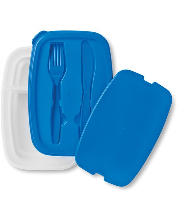 Dilunch Lunch Box With Cutlery Set