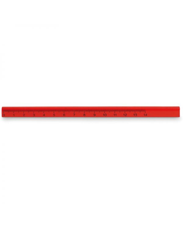Maderos Carpenters Pencil With Ruler