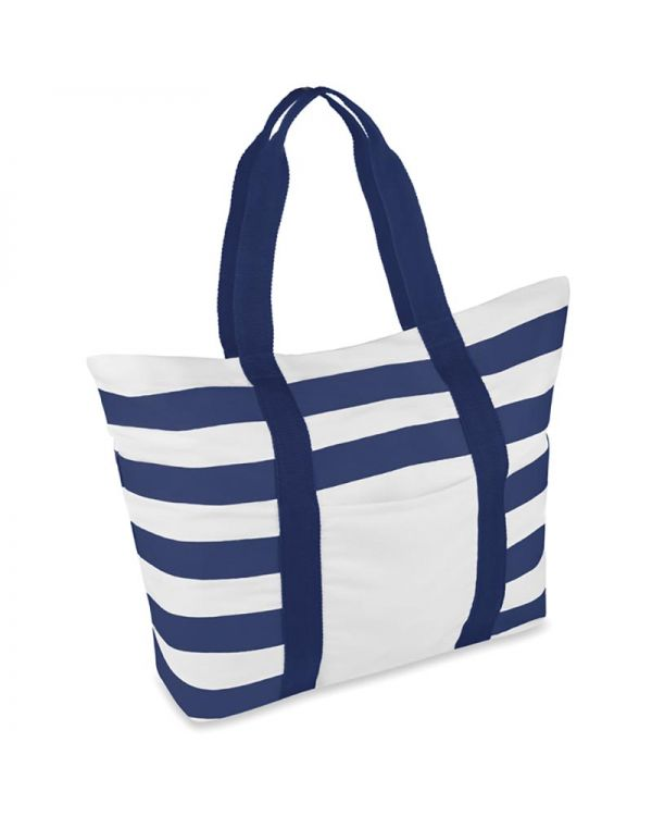Blinky Stripes Beach Bag Striped