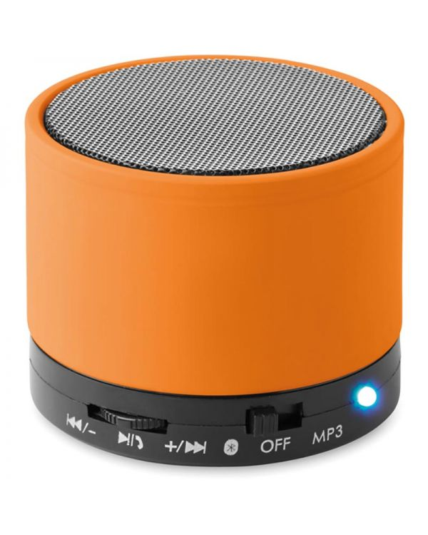 Round Bass Round Wireless Speaker