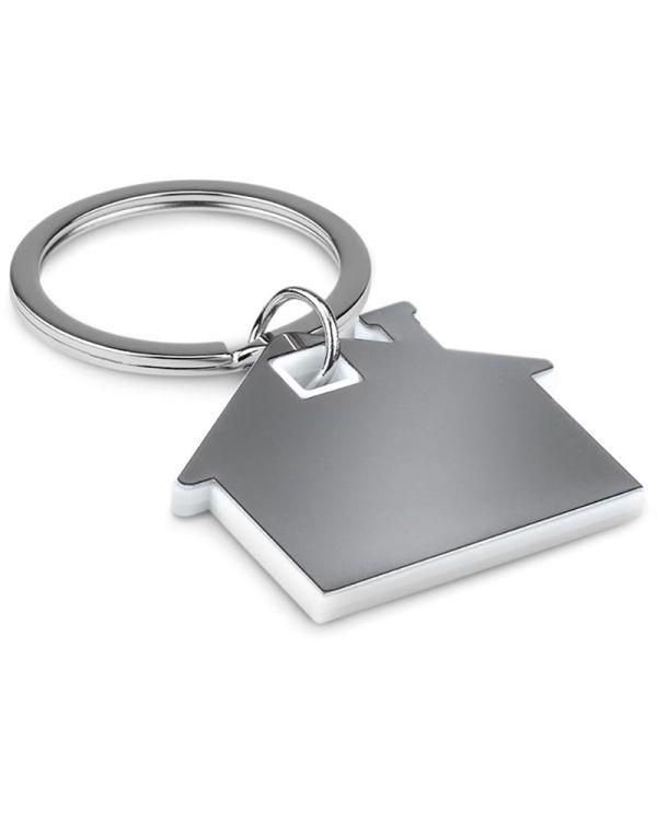 Imba House Shape Plastic Keyring
