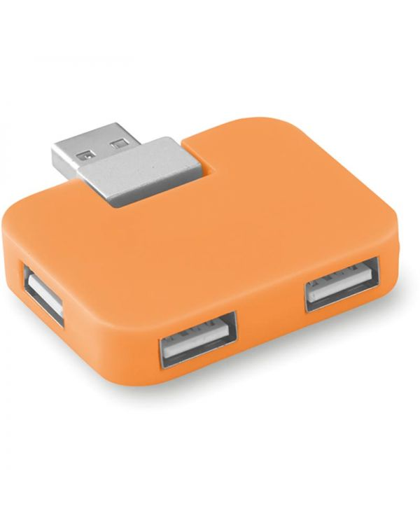 Square 4 Port USB Hub