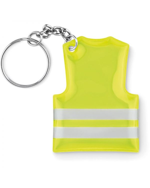 Visible Ring Keyring With Reflecting Vest