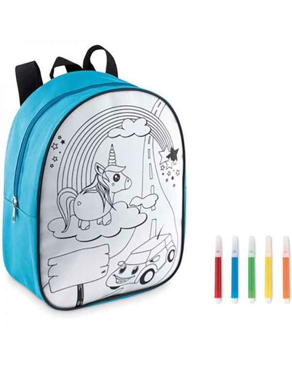 Backsketchy Backpack With 5 Markers