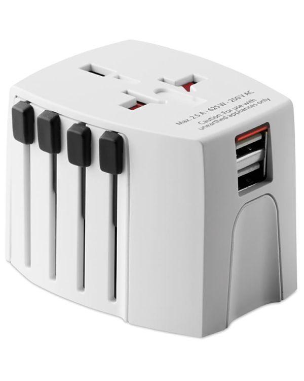 Skross MUV USB. 2-Pole