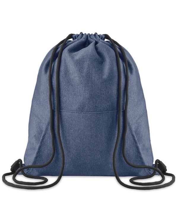 Sweatstring Drawstring Bag With Pocket