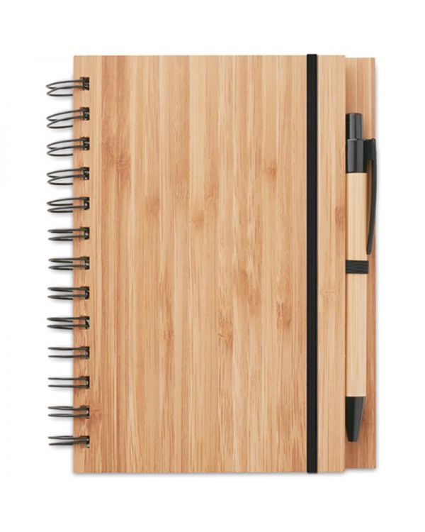 Bambloc Bamboo Notebook With Pen