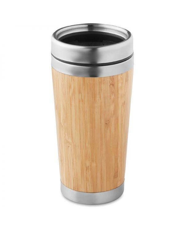 Rodeodrive+ Bamboo Double Wall Travel Cup