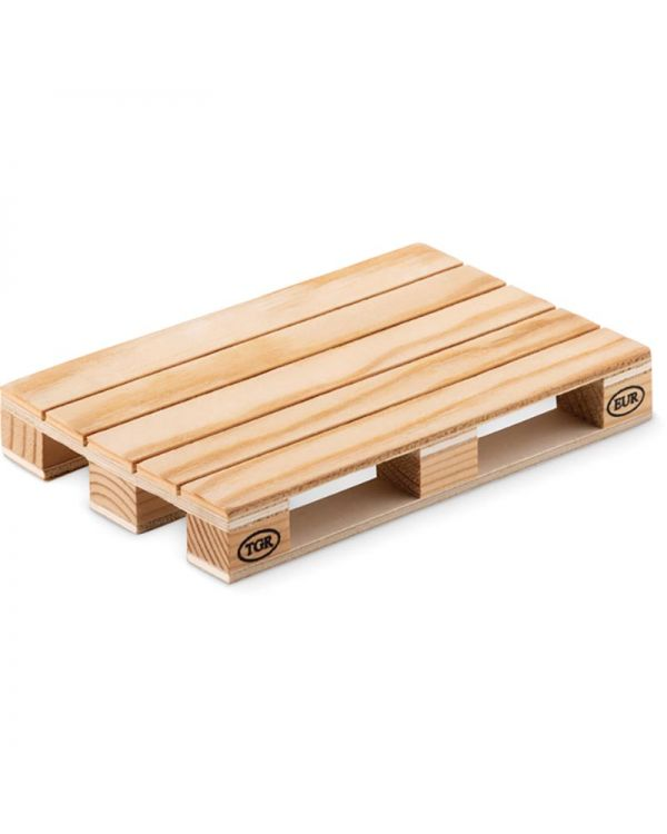 Paly Wooden Coaster In Pallet Shape