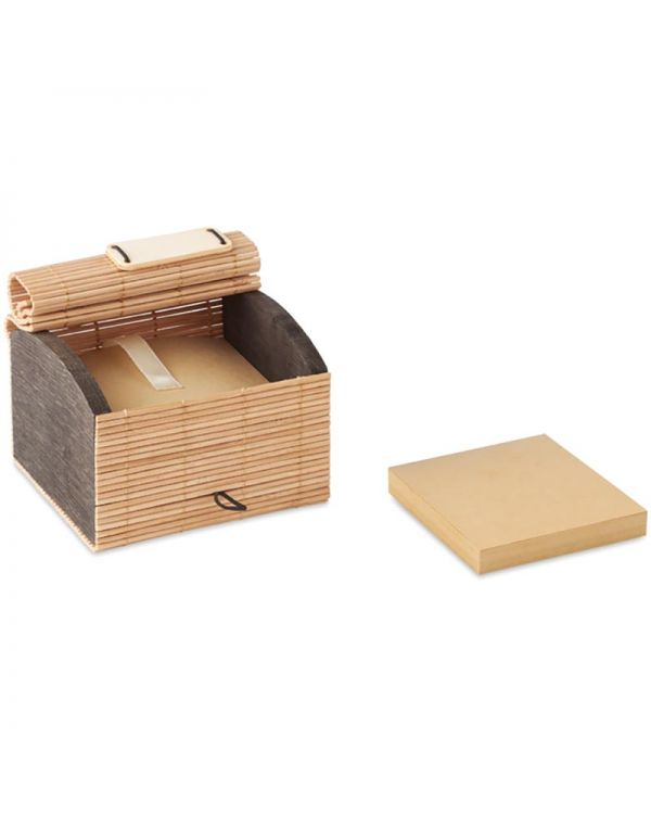 Cortina Block Bamboo Desk Notepad 500 Sheets