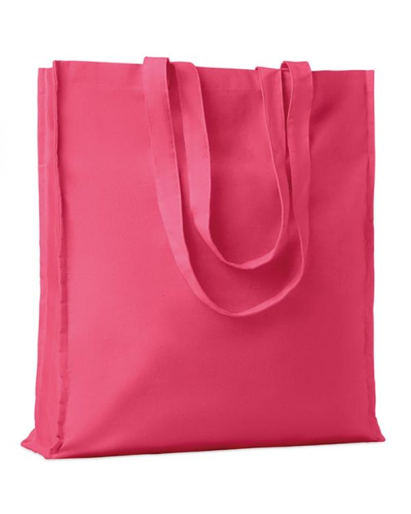 Portobello Cotton Shopping Bag With Gusset