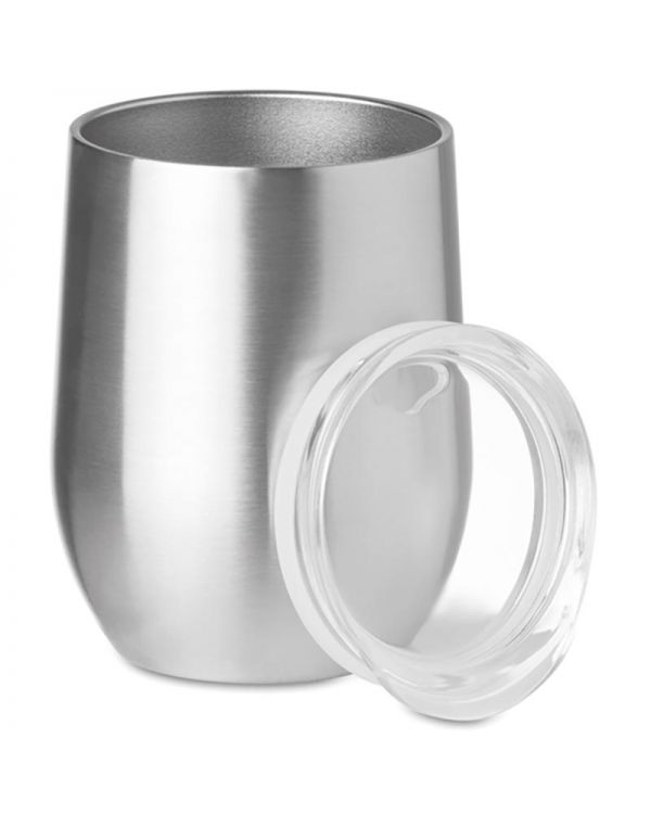 Chin 300ml Double Wall Ss Mug
