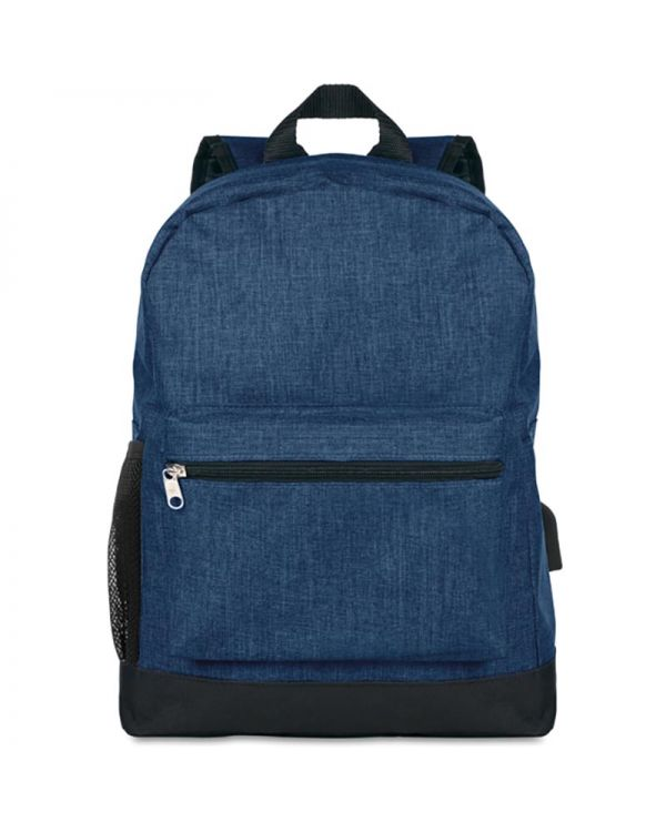 Bapal Tone 600D 2 Tone Polyester Backpack