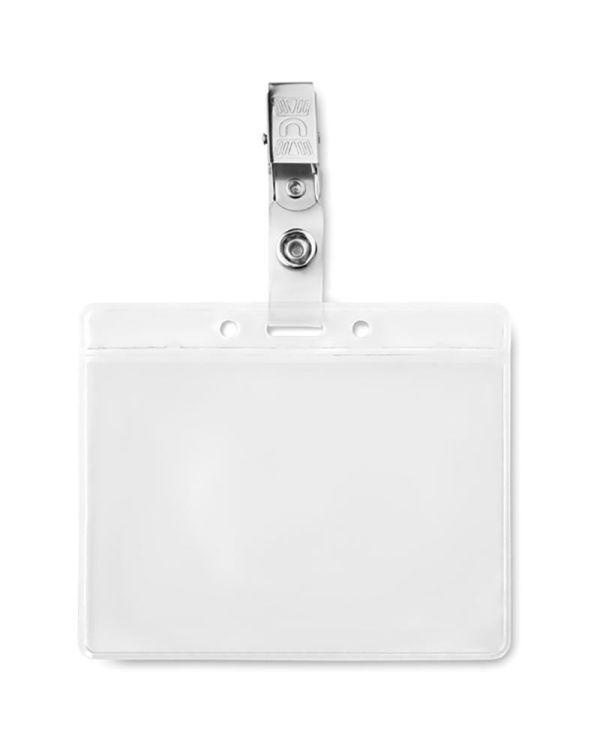 Clipbadge PVC Badge Holder